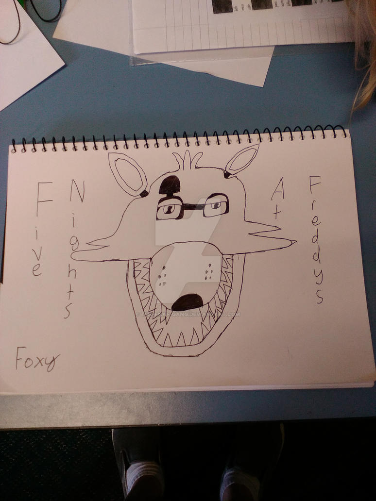 Five nights at freddys foxy the pirate fox by the fnaf gang on