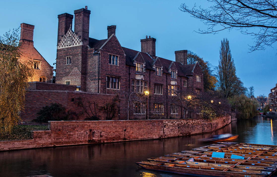 Cambridge Quayside by Pipera