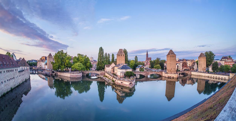 Grande Ile, Strasbourg by Pipera