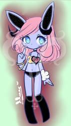 Pantsu demonic Bunny Girl by LickyM0use