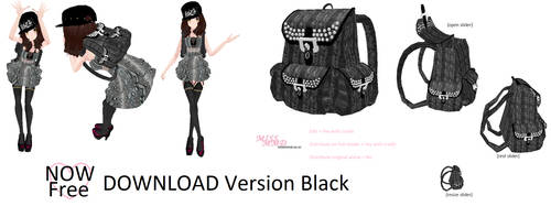 MissMMDBag Version Black [ Now FREE] Watchers Gift by missmmd