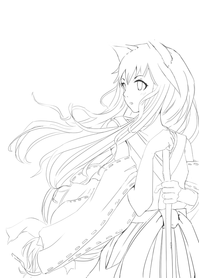 Line Art Figures : Shiritori figures lineart by mega ne on deviantart