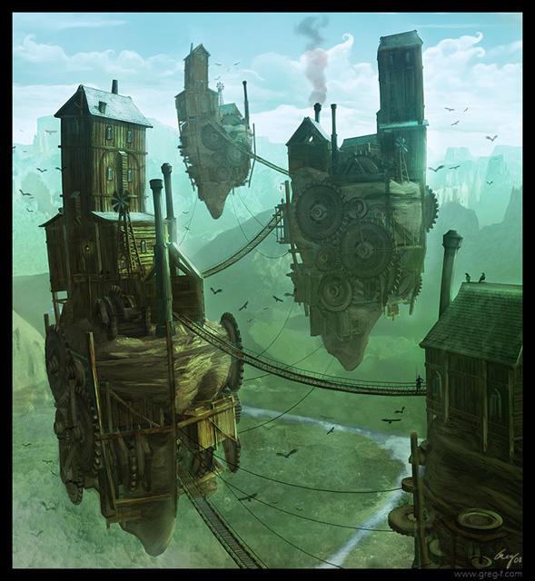 Flying Castles