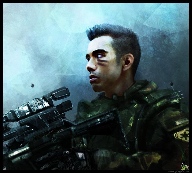 Future Soldier by gregmks