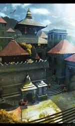 Tibet City by gregmks
