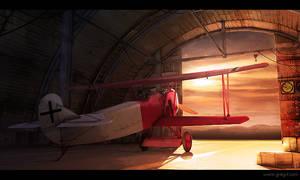 Old german Fokker
