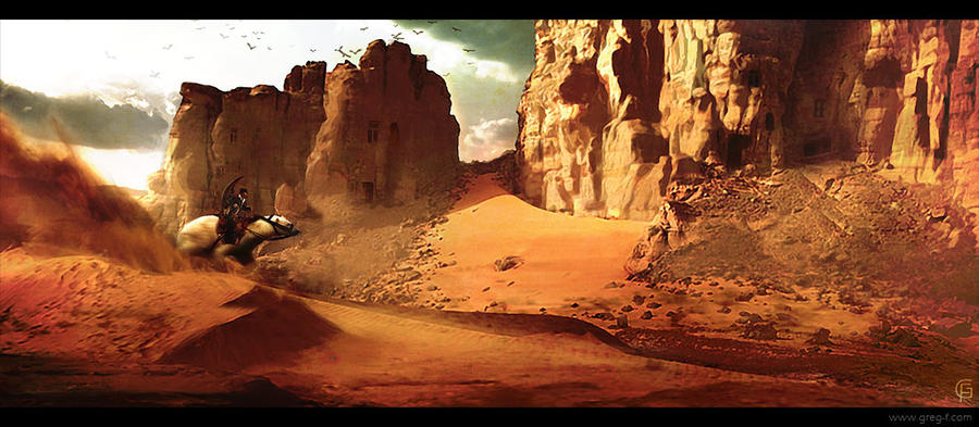 Desert ride by gregmks