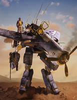 Macross/Corsair crossover by gregmks