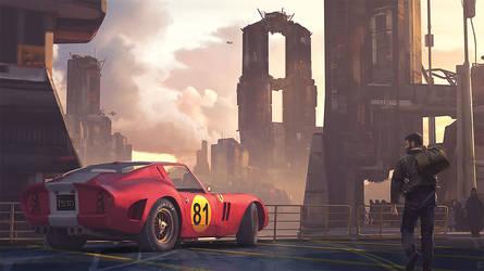 Ferrari 250 GTO by gregmks
