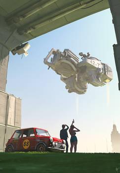 Mini Rallye - Take off