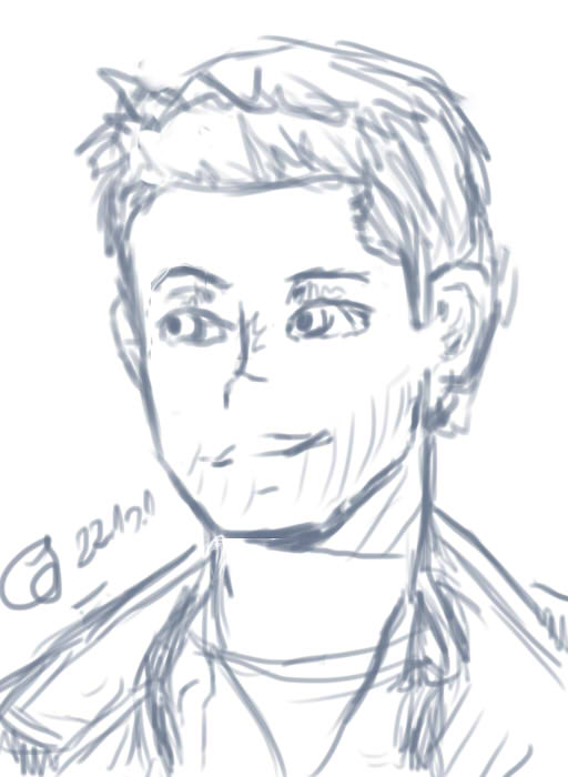 Dean Winchester (Supernatural) by patamata