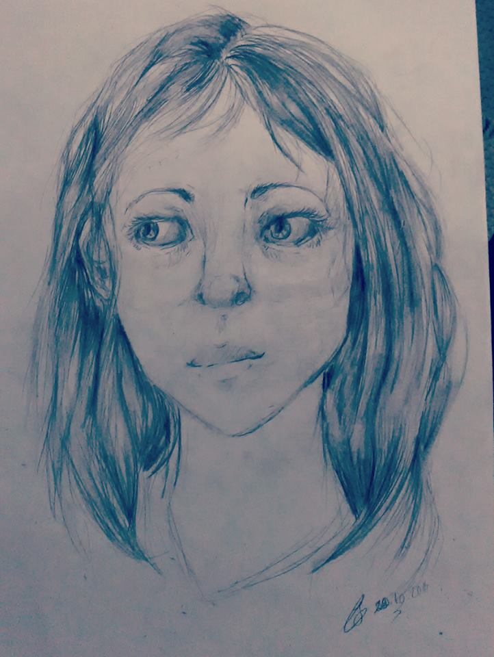 Random sketch by patamata