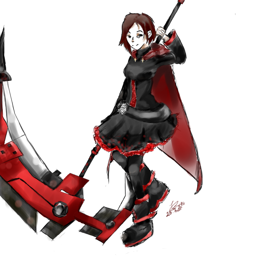 The fearless leader, Ruby (digital re-do) by patamata