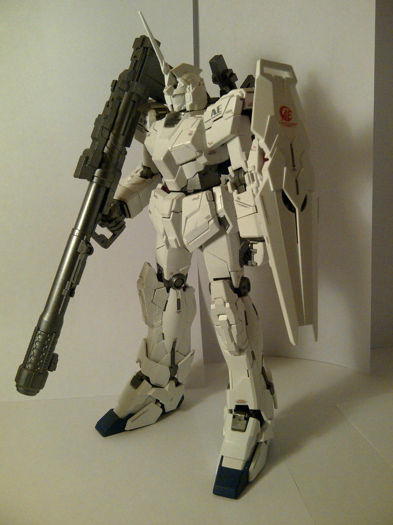 MG Unicorn Gundam (Unicorn Mode) by Draw-Over