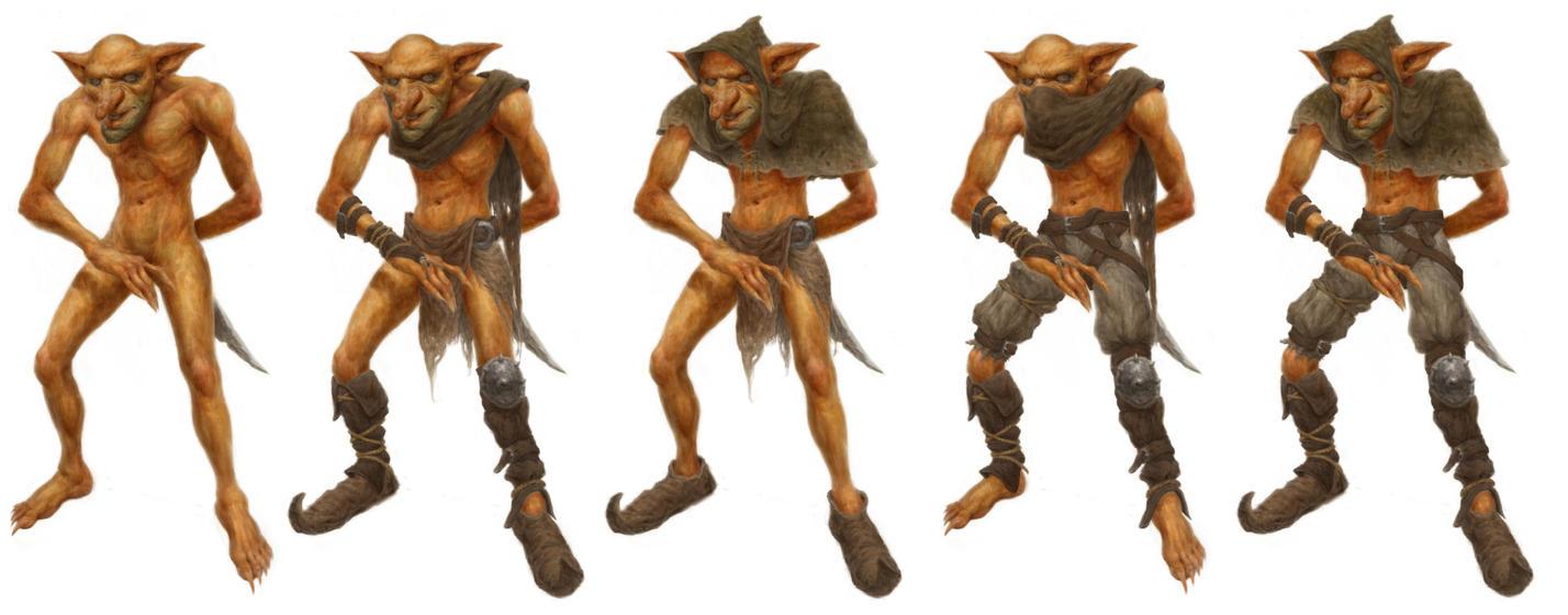 Goblin concept by CarlosAmaralArt