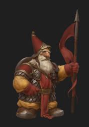 Old spearman guard