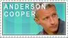 Anderson Cooper Stamp by MudMaximum