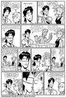 Gareck's blind date by RisingDragonArt