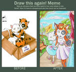 Draw this again! Meme by RisingDragonArt