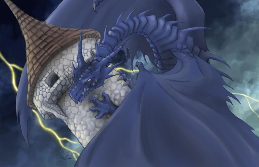 Blue Dragon by JKirckof