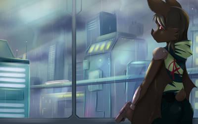 Cyberbat by RisingDragonArt