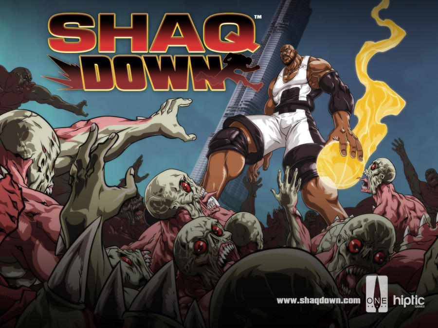 ShaqDown Desktop Wallpaper by Vostalgic