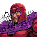 Digital Sketch Warm up 35 - Magneto