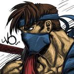 Digital Sketch Warm up 49 - Jago Killer Instinct