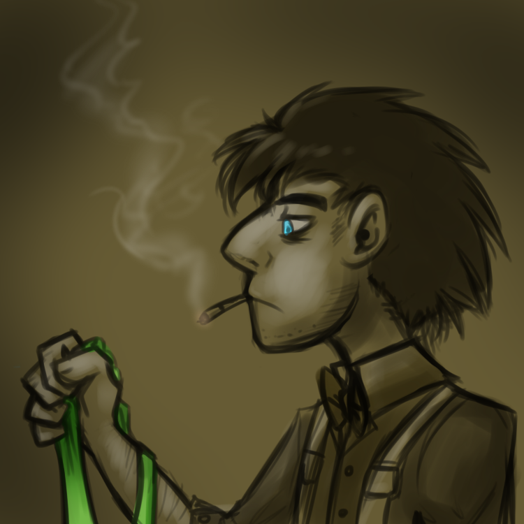 Paperman Doctor by JitterbugJive