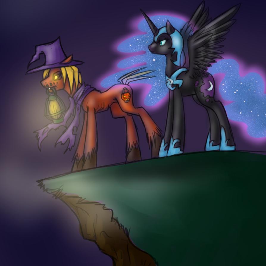 Overlooking Nightmare by BaldDumboRat