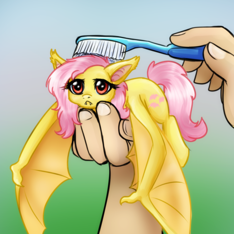 Flutterbat Brushies by BaldDumboRat