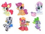 Supporting Cast Shrinkies
