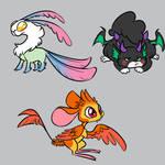 Mystery Creature Adopts Set 1 [CLOSED] by JitterbugJive