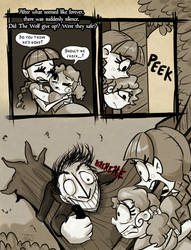 OUAC - The Three Little Pigs: Page 13 by JitterbugJive
