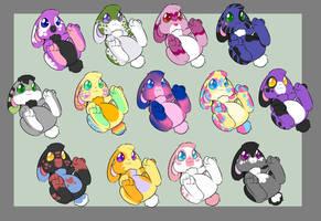 Pride Bunny Adoptables [CLOSED]