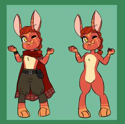 Evolving Bunny Adoptable: Hiro Vonfer by JitterbugJive