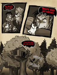 OUAC - The Three Little Pigs: 16 by JitterbugJive