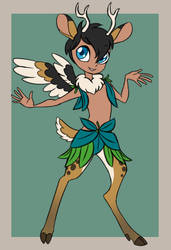 Fairy Fawn Adoptable 2 [CLOSED] by JitterbugJive