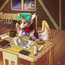 Tavern Respite by JitterbugJive