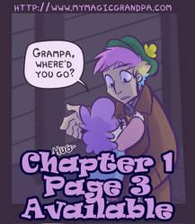 My Magic Grandpa - Ch 1 Pg 3 Preview