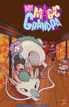 My Magic Grandpa + Spririted Away Crossover
