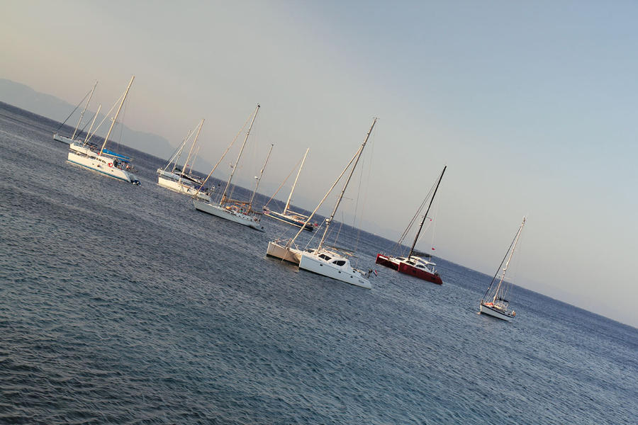 Boats by Morskaya-aka-Umino