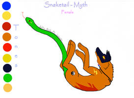 Character Sheet 2 - Snaketail by ShroudofShadows