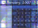 January Calender