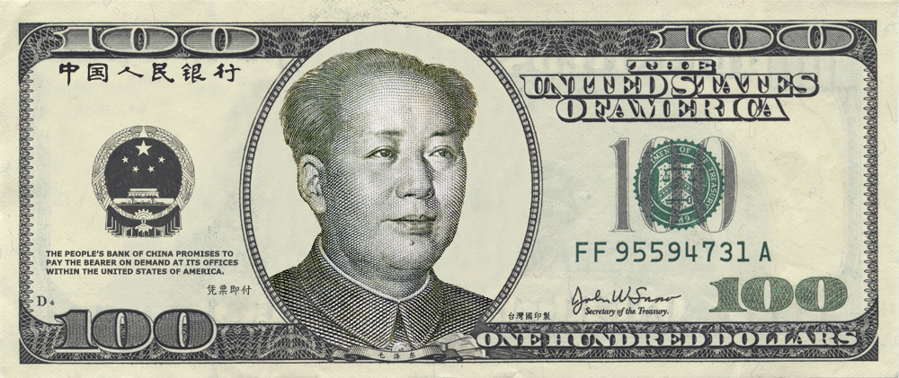Mao On 100 Dollar Bill By Philosophy Dude On Deviantart