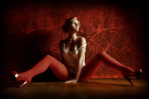 red by angelikakrinke