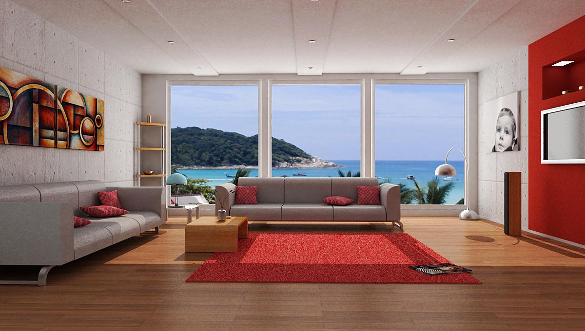 Living Room by devil2k3