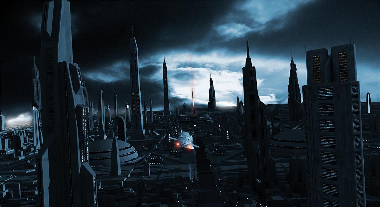 Dark City by devil2k3 on DeviantArt