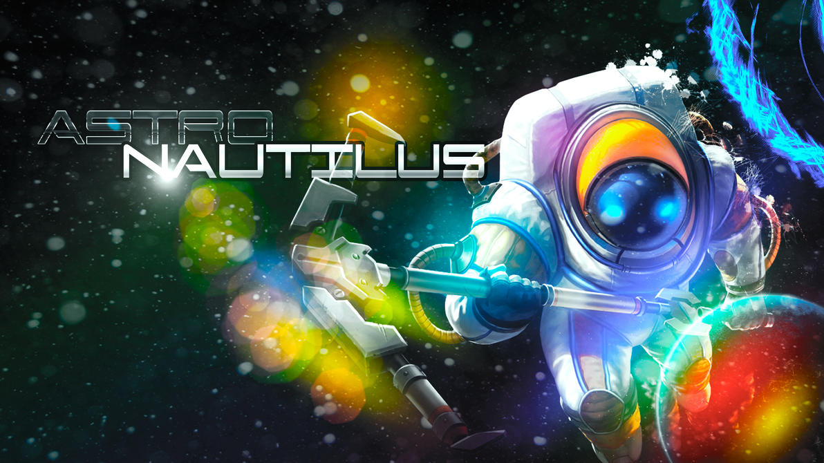 Astro Nautilus Wallpaper Full HD By Pedrovovp