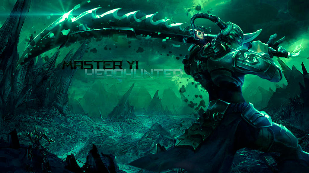 HeadHunter Master Yi Wallpaper Full HD By Pedrovovp